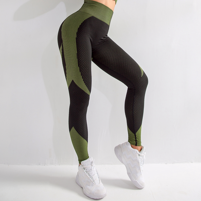 2020 Women Seamless Workout Leggings Sexy Clothes Workout Jeggings Fitness Legging 5