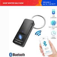 Fipilock Bluetooth Fingerprint Lock Smart Lock Home Luggage Dormitory Locker Warehouse Door Waterproof Super Electronic Padlock