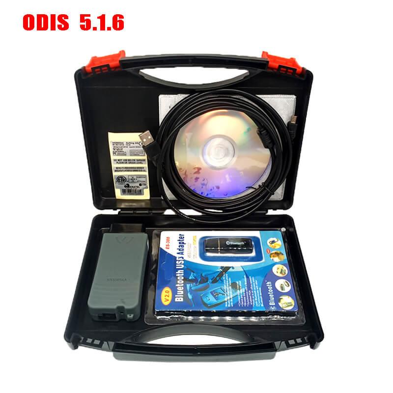 VAS5054A ODIS 5.1.6 Bluetooth Full Chip With OKI Buzzer Vag Diagnostic Tool Vas 5054A For VW/Audi With Box