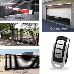 Image 5 - Porta de controle remoto duplicador código fixo e rolling code clone remoto 315 mhz 433.92mhz 868.35mhz para a porta da garagem