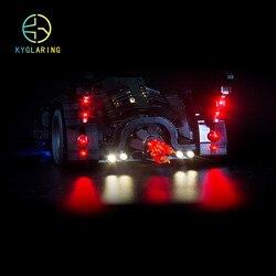مجموعة إضاءة LED لمجموعة ليغو 76139 1989 Batmobile (لا تشمل مجموعة الكتل)