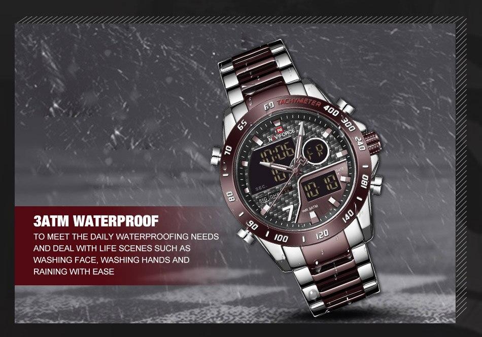 H4f3b269499de4d158d362a8341c81071i NAVIFORCE Men Digital Watch LED Sport Military Mens Quartz Wristwatch Male Luminous Waterproof Clock Watches Relogio Masculino