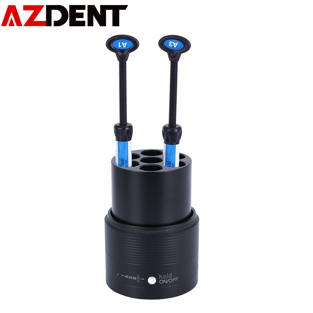 Azdent Dental Resin Heater Material Soften DC Composite Heater AR Heater Composite Resin Heating Composed Material Warmer