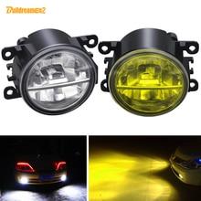 LED Nebel Licht Für Peugeot 207 301 307 308 408 2008 407 607 3008 4007 4008 5008 Bipper Tepee Auto front Stoßstange Nebel Lampe 12V