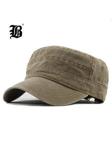 Washed-Caps Hat Flat-Top Classic Vintage Winter Mens FLB for Menf314 Fitted Warm Adjustable