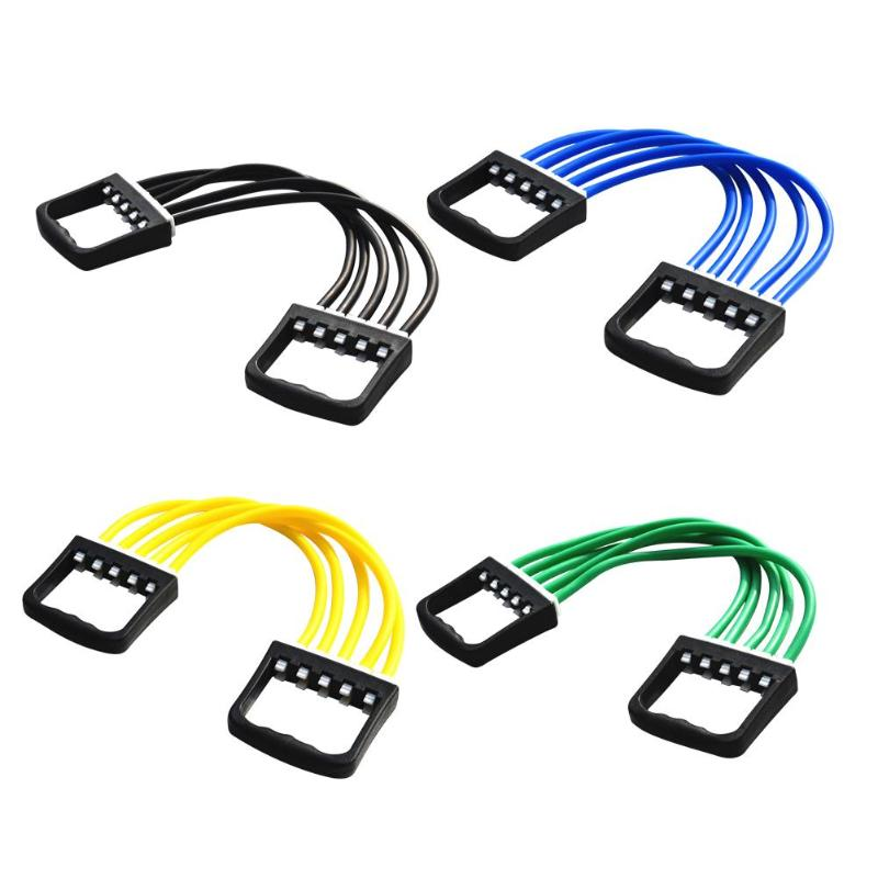 Resistance Bands Delicate Texture 5 Resistance Bands Adjustable Chest Expander For Arm Strength Muscle Training