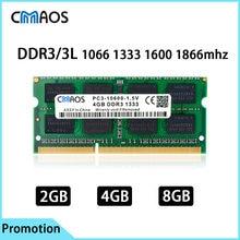 Memoria Оперативная память ddr3 2 ГБ/4 ГБ/8 Гб памяти ноутбука