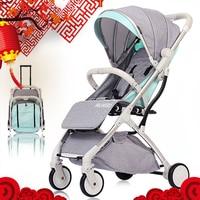 Multifunctional Strollers Mini Lightweight Folding Baby Stroller Foldable Pushchair(Tax Free)(Czech shipments,EU Free Shipping)