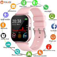 Women Smart Watch 2021 Heart Rate Activity Tracker Blood Pressure Monitor Waterproof Sport Ladies Smartwatch Men For Android IOS 1
