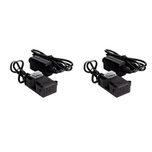 fast charge Car charging car dual usb mobile phone charger turn 5V2a waterproof modified motorcycle