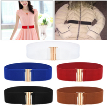 2019 nuevo cinturón para mujer Ceinture elástico Ceinture suave cuero ancho auto Tie Wrap cintura banda Simple Lady Vintage vestido cinturón accesorio