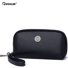 ZOOLER Luxury wallets woman 2019 designer genuine leather bag for women Genuine cow coin purse mini small wallet-QH201