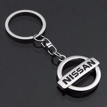 Estilo do carro chaveiro chave acessórios para nissan qashqai j11 j10 nota juke x-trail t32 t31 navara folha tiida kicks tiida nismo