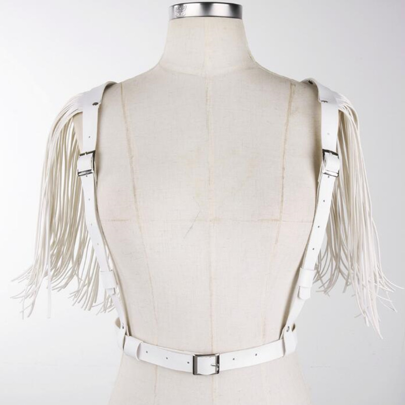 2020 Spring All-match Punk Style Trendy Tassel Corset Belt Fashion New Design Female PU Wide Belt Solid Stylish Strap Belt ZK508