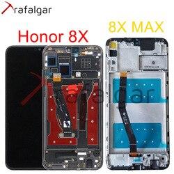 Affichage Trafalgar pour HUAWEI Honor 8X écran LCD JSN-L21 L22 écran tactile pour Honor 8X affichage MAX avec cadre remplacer ARE-AL00