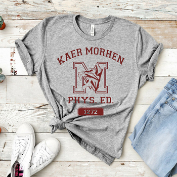 2020 Kaer Morhen Wolf School T-shirt Geralt of Rivia T-shirt White Wolf TV Show Game Inspired Graphic Tee Cool Hipster Tops 1