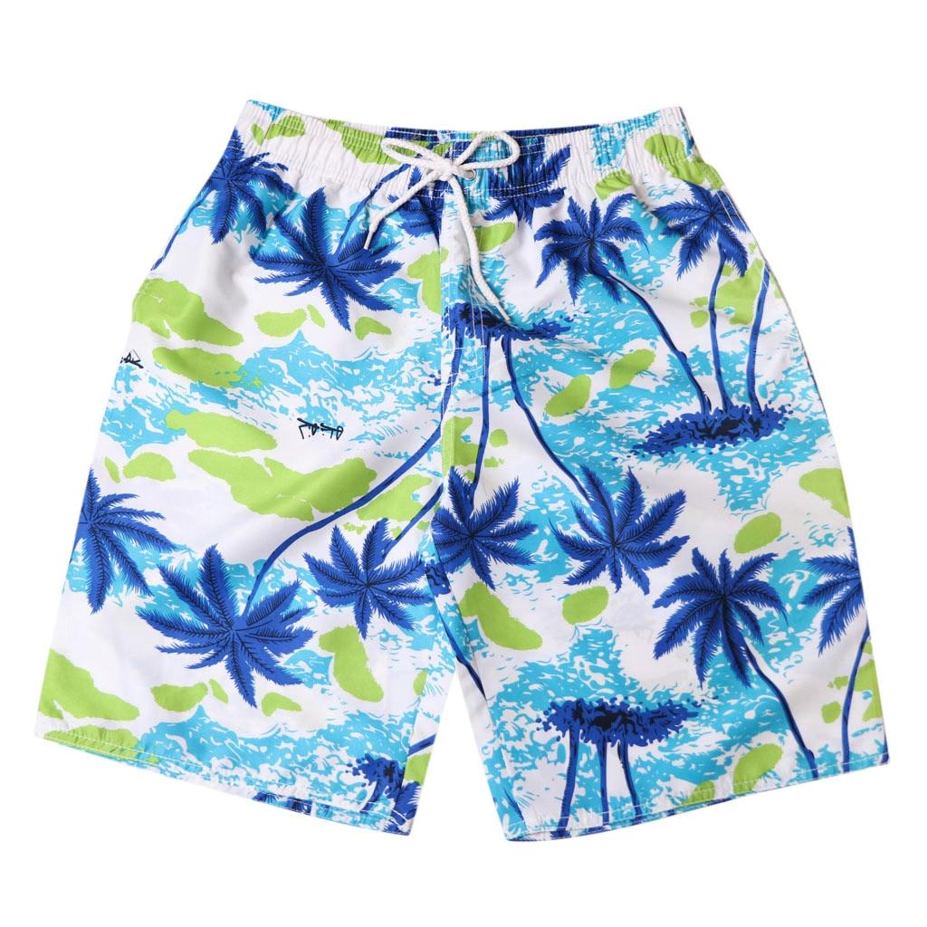 2019 Couple Swimming Shorts Quick-drying Beach Swim Pants Men Women Surf Swimsuit Plus Size Loose Sea Holiday Surfing Swimwear