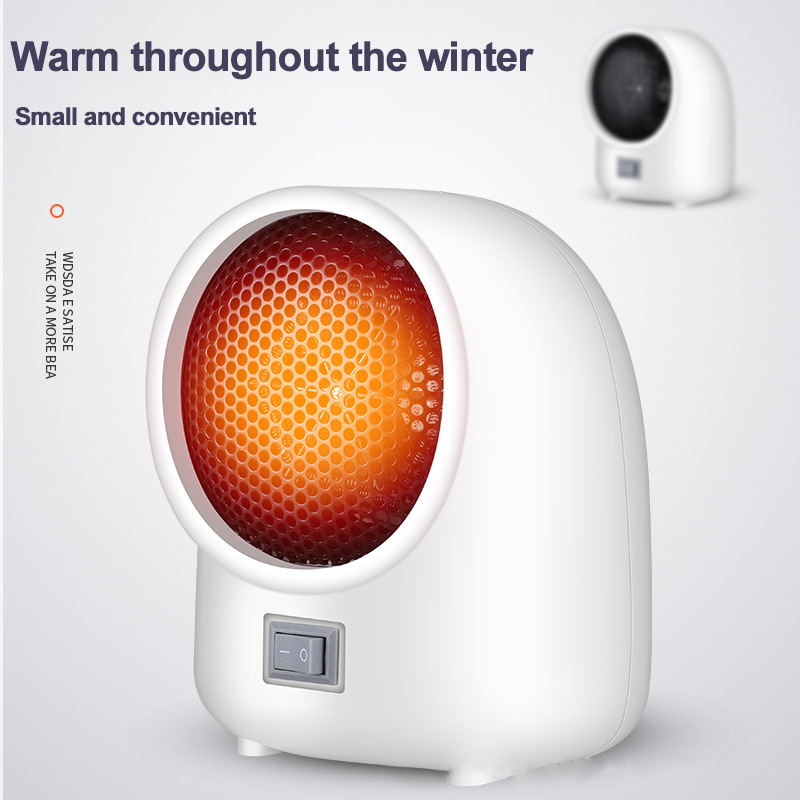 Portable Electric Heater Fan Household Indoor Heater Home Heaters Mini Desktop Air Heater Winter Heater Fan portable heater