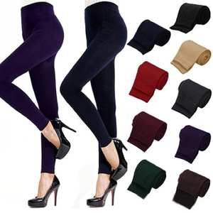 Leggings Stretch-Pants Tights Skinny Warm Sexy Thick High-Waist Hot-Sales Women Winter