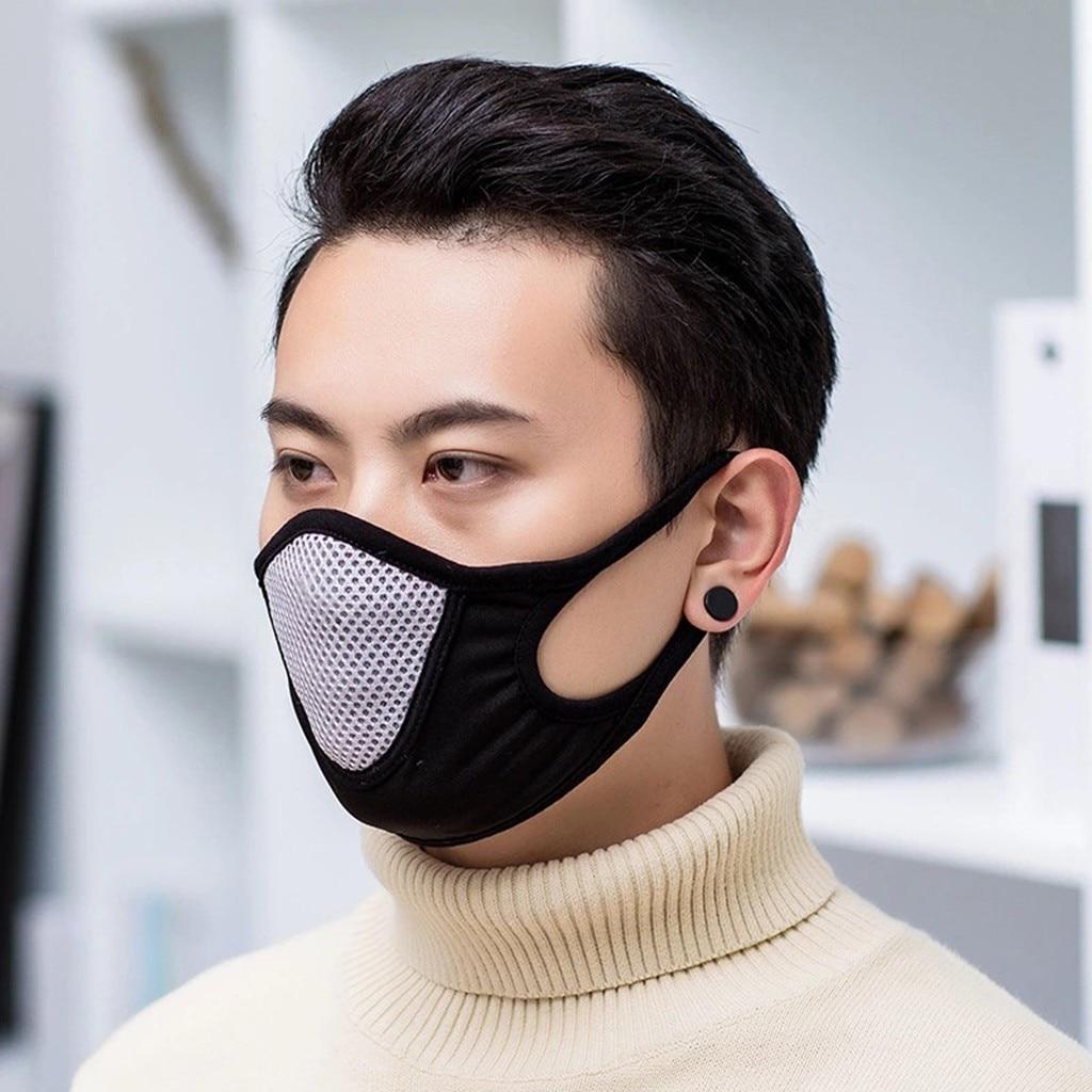 Breathable Mask Dust-proof Anti-ultraviolet Lycra Masks Riding Mask Anti-dust Face Masks Breathable Respirator Masque Mascarilla