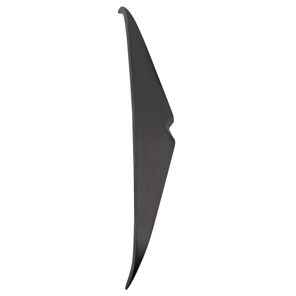 Moto farol sobrancelha pálpebra adesivo decoração farol