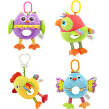 Pulling Musical Owl Baby Toys Educational Toys for Babies 0-12 Months Baby Bed Hanging Rattles Toys Crib Toys Children's Toys owl babies