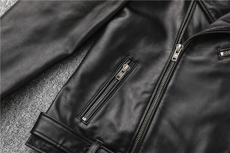 H4f3dc44dbdb94be6a13c4880e0fb9de5J Free shipping,Sales!Brand new genuine leather jacket.mens motor biker sheepskin coat.slim plus size jackets.leather outwear