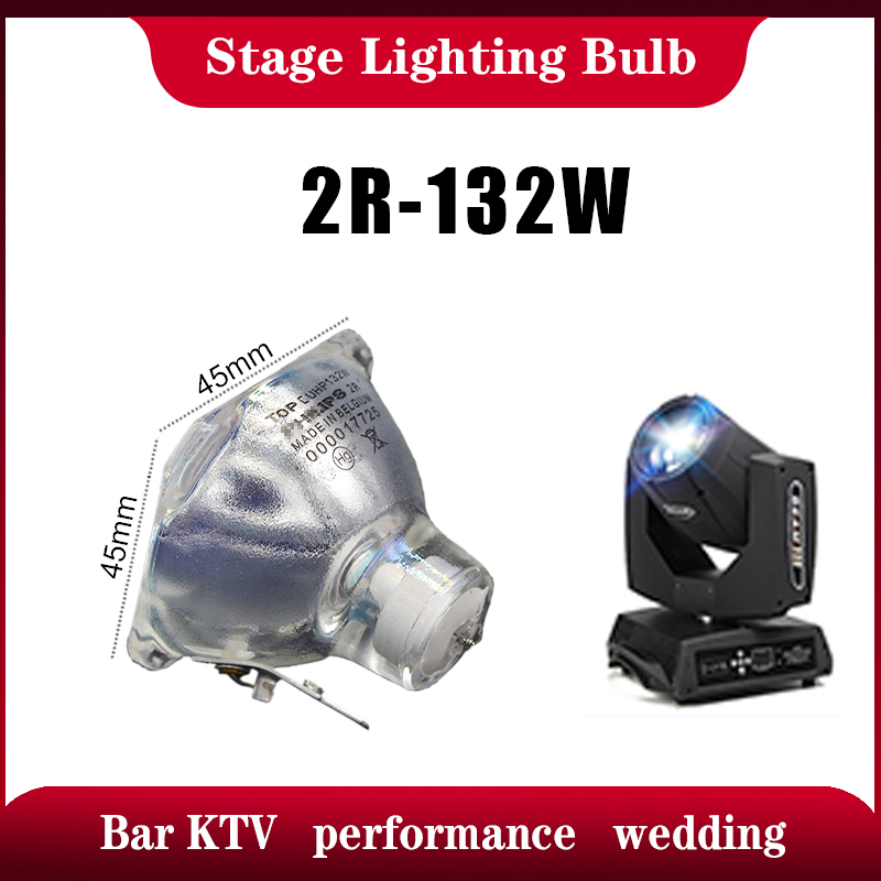 Hot Sale Stage Light 132W-120W 2R Metal Halide Lamp Moving Beam Lamp 132W-120w Beam Platinum Metal Halogen Lamps Follow Spot