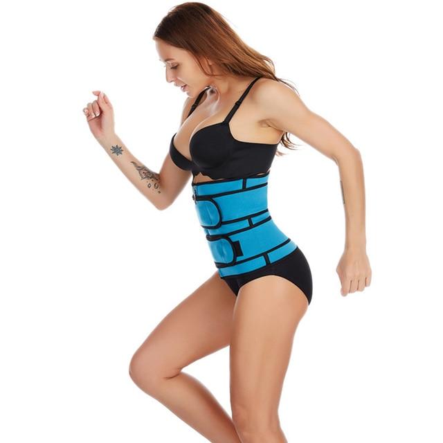 Neoprene Waist Trainer Body Shaper Belt Women Slimming Sheath Belly Reducing Shaper Tummy Sweat Shapewear Workout Shaper Corset 2