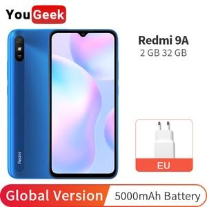 Global Version Xiaomi Redmi 9A 9 A 2GB 32GB Cellphone 5000mAh Battery MTK Helio Octa Core 6.53