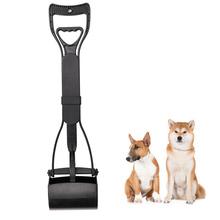 Lekki i wygodny pies długa rączka szufelka do sprzątania psich odchodów dla dużych małych psów kupa odpady podnieś narzędzia do czyszczenia prowizji tanie tanio Pooper Scoopers i Torby