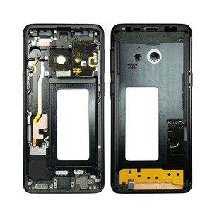 Image 3 - 1Pcs Für Samsung Galaxy S9 + S9 Plus G960f G965F Gehäuse LCD Display Mittleren Rahmen Midframe Lünette Chassis Platte