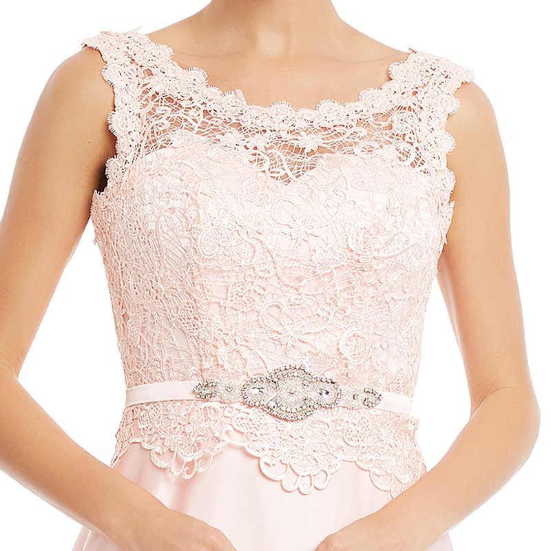 Dressv כהה חיל הים ארוך שמלת ערב זול תחרת שרוולי מסיבת חתונה רשמי שמלת קו ערב שמלות