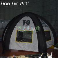 야외 캠핑/광고에 대 한 이동식 커버 풍선 거미 텐트와 휴대용 상업 풍선 airbeam 텐트