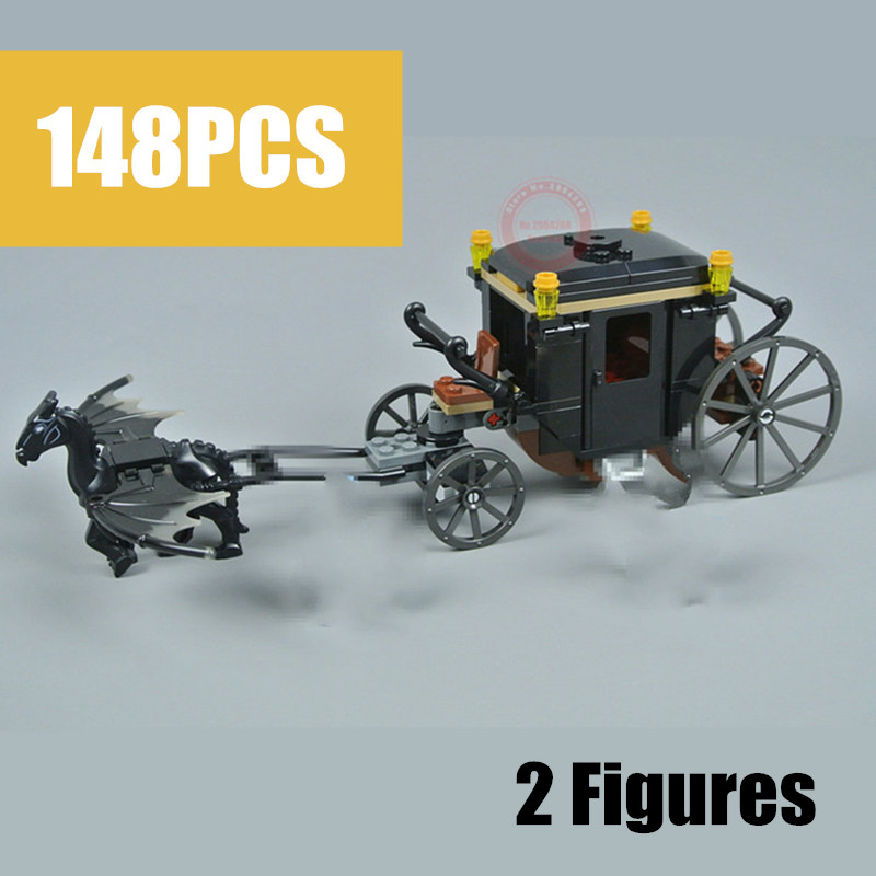 New MOC Castle House Fantastic Beasts Fit Legoings Technic Power Functions Figures Potter Building Block Brick Toy Gift Birthday 5