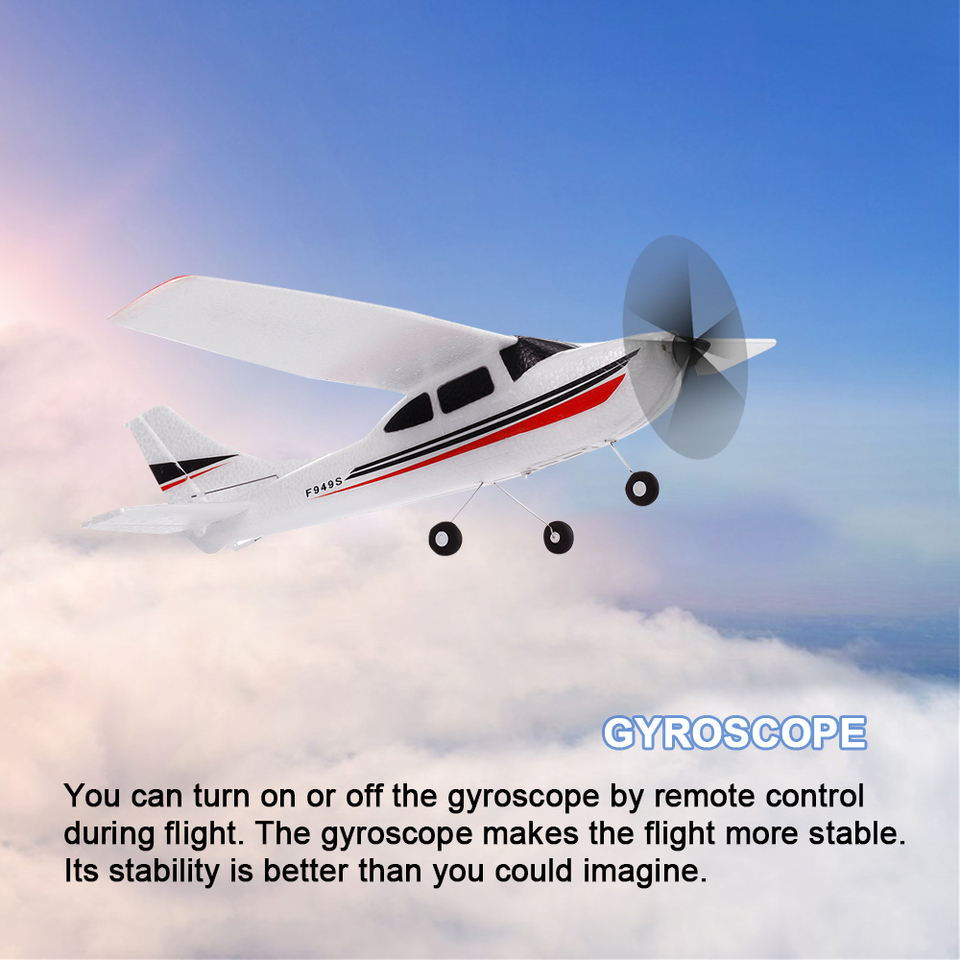 Airplanes & Jets GoolRC WLtoys F949S RC Airplane EPP Remote ...