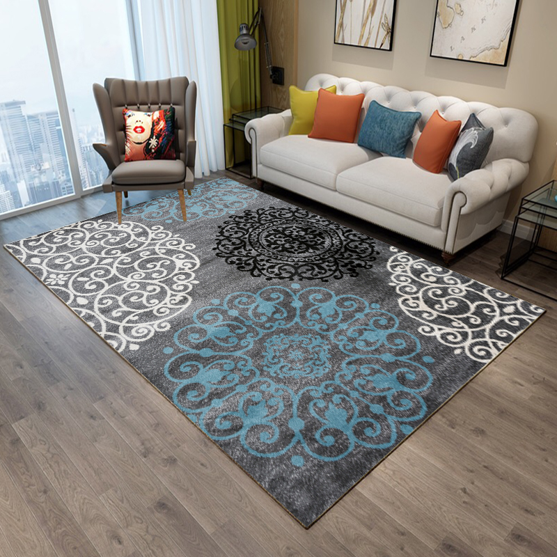 Image 3 -  Hot Sale Modern 3d Japanese style Wood Floor Rug For Living Room Non slip Antifouling Carpet For Bedroom Parlor Factory-in Carpet from Home & Garden