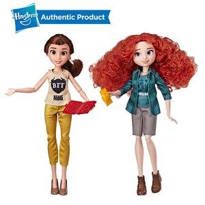 Куклы из фильма «Белль и Мерида» от Hasbro, Принцессы Диснея Ральфа, с удобной одеждой и аксессуарами