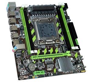 Image 5 - Atermiter carte mère X79 X79G LGA2011 mini ATX combos E5 2690 C2 SR0L0, processeur 4 pièces x 8 go = 32 go de RAM DDR3, 1600Mhz PC3 12800R