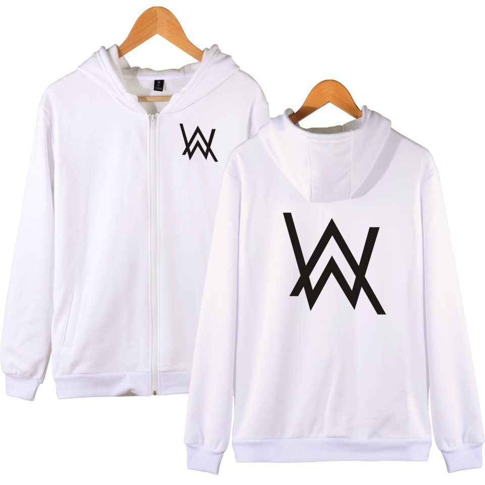 Allen Walker DJ Zip-up Hoodie Alan Walker Celebrity Inspired Faded Electronic Music Island Walker Jacket