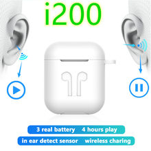 i200 tws Pop up 1:1 PK w1 h1 chip Wireless Earphone Bluetooth Earphones Earbuds chip i30 i20 i12 i10 i10tws i60 i80 tw(China)