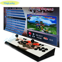 yinglucky Pandora X 3D Arcade Console 2600 in 1 PCB Board 2 player home use controller Retro video game machine