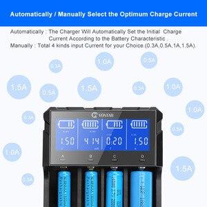 Image 3 - Caricabatterie intelligente 18650 ricarica per batterie ricaricabili agli ioni di litio 26650 18650 14500 16340 AA AAA 1.5V 3.7V