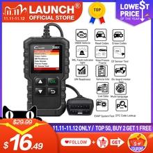 LAUNCH X431 CR3001 전체 OBD2 스캐너 OBDII 코드 리더 자동차 진단 도구 엔진 빛 무료 업데이트 pk cr319 ELM327 끄기