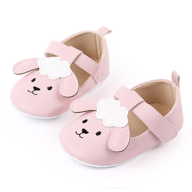 Cute Cartoon Baby Girl Shoes First Walkers Pu Leather Newborn Infant Shoes Soft Sole Non-Slip Toddler Girls Shoes Schoenen