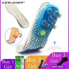 Стельки для ног ортопедические для бега Спортивная Весенняя амортизирующая обувь колодки пятка для обуви защита стопы вкладыши для обуви