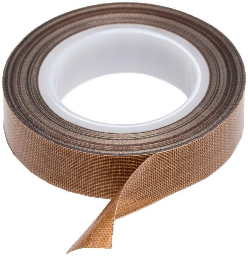 10M Long  Multipurp Teflon Tape Resistant High Temperature Adhesive Cloth Insulation 300 Degree Vacuum Sealing Machine Teflon