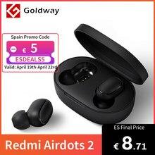 Xiaomi – écouteurs sans fil Bluetooth 5.0, Redmi AirDots 2 TWS, casque d'écoute, gauche, droite, faible latence, Mi True, stéréo, Auto Link