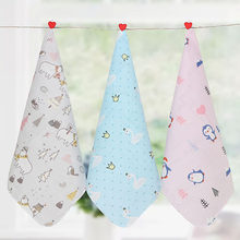 Baby Bath Towel Cotton Towels Handkerchief For Newborn Bib Kids Feeding Burp Cloth Scarf Face Washcloth Wash Stuff(China)