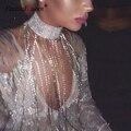 Женское вечернее мини-платье, длинное кисточка из горного хрусталя с золотыми и серебряными блестящими бриллиантами, свободная цепочка, ро...